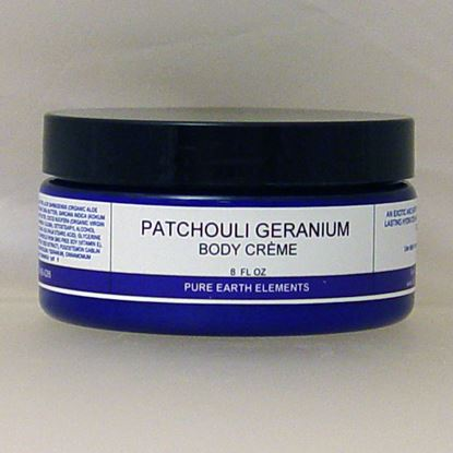 Picture of Patchouli Geranium Body Cream - 8 oz