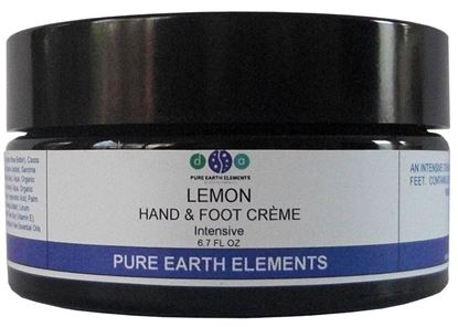 Picture of Lemon Hand and Foot Cream - 8 oz