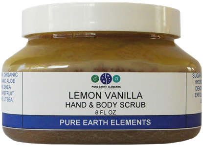 Picture of Lemon Vanilla Body Scrub - 8 oz